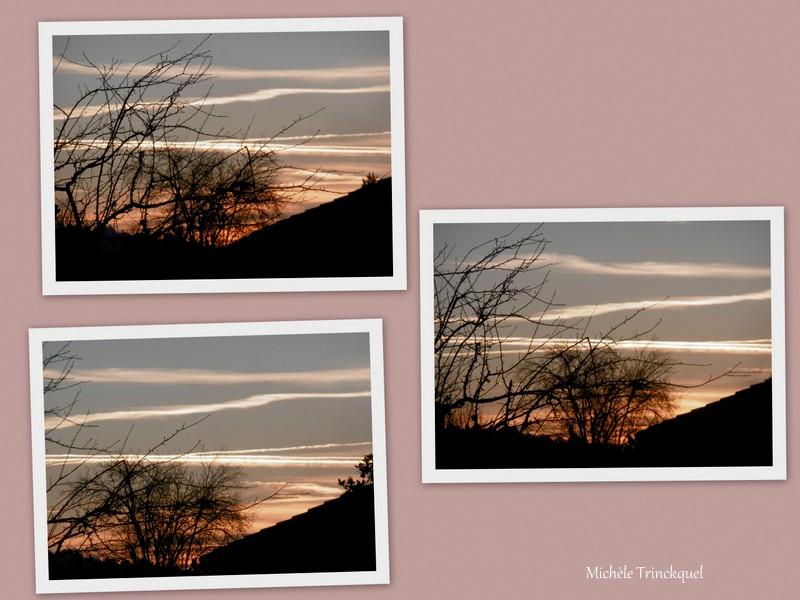 Le ciel au matin du 8 janvier...