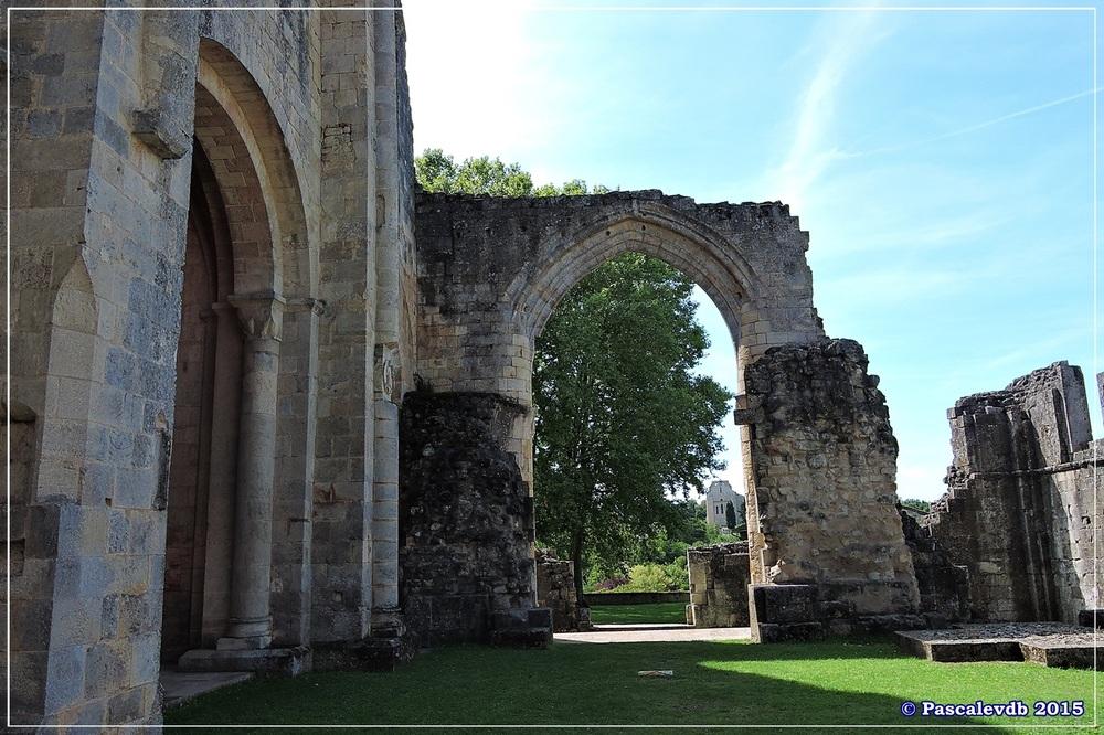 L'abbaye de La Sauve-Majeure - Août 2015 - 3/10