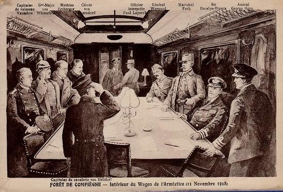 1 armistice 1918