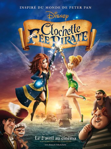 Telecharger Clochette et la fée pirate (2014) |BDRIP FRENCH]
