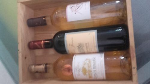 Caisse à vin scrappée