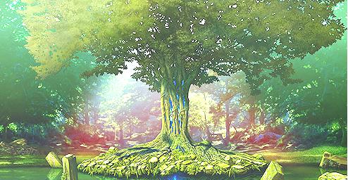 Résultat d'images pour paysage tumblr anime