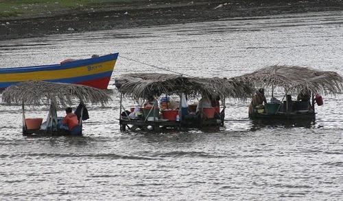 les lavandières du lac Nicaragua;