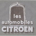Usines Citroën - Catalogue de 1927