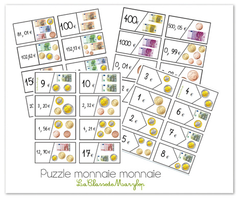 Puzzle monnaie monnaie