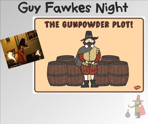 CE2/3 - REMEMBER, REMEMBER ... Guy Fawkes.