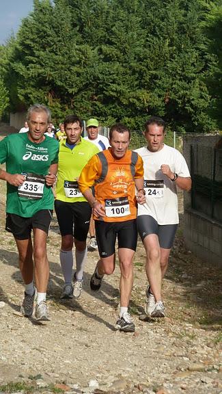 Course de reprise à St Saturnin lès Avignon