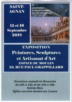 Exposition de St Agnan
