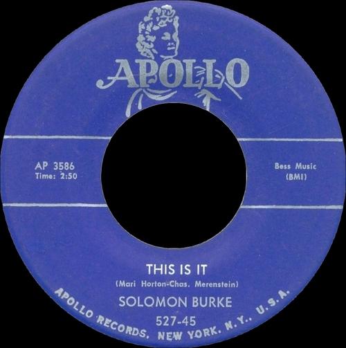 "Solomon Burke : CD "" I'm Not Afraid The Singles 1955-1962 "" SB Records DP 119 [ FR ]"