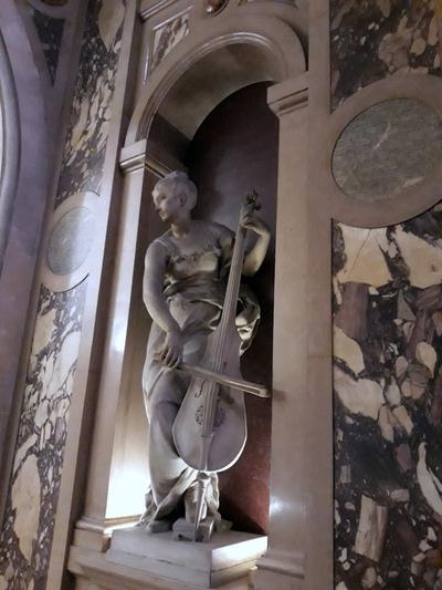 Visite des salons de l'Hôtel de Ville de Paris