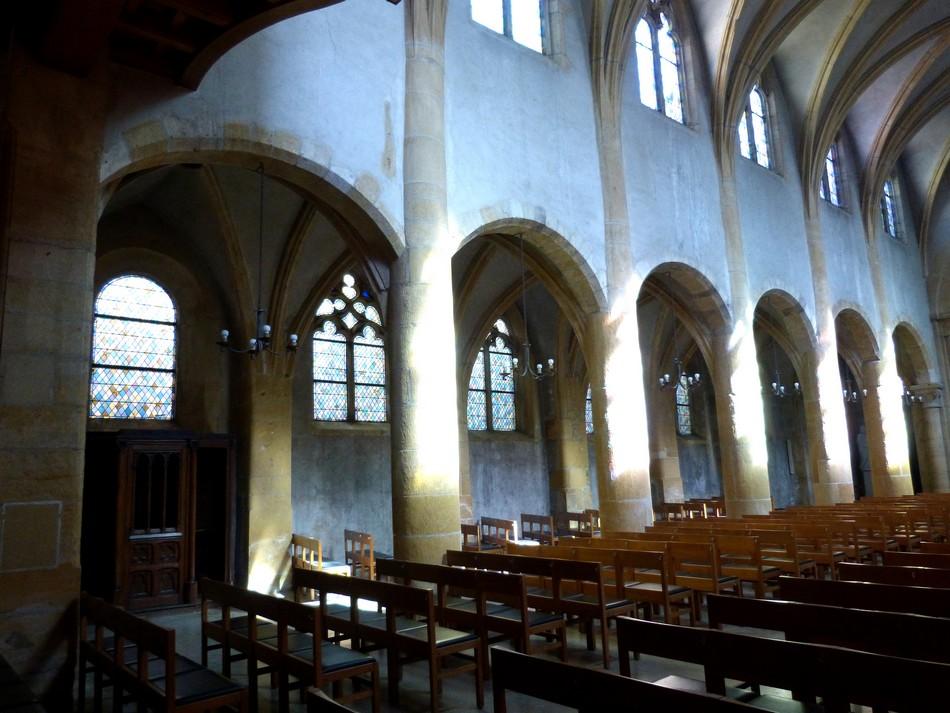 Les vitraux de Jean Cocteau à Metz