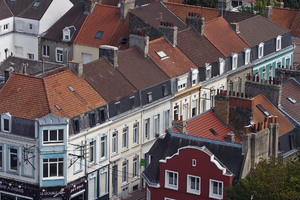 coin rues Jean-Jaures et du Pont-Lottin