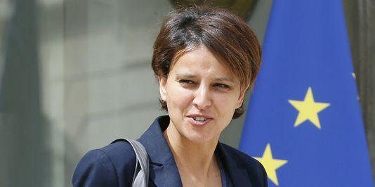 La ministre des droits des femmes, najat Vallaud-Belkacem, le 16 juillet à l'Elysée.