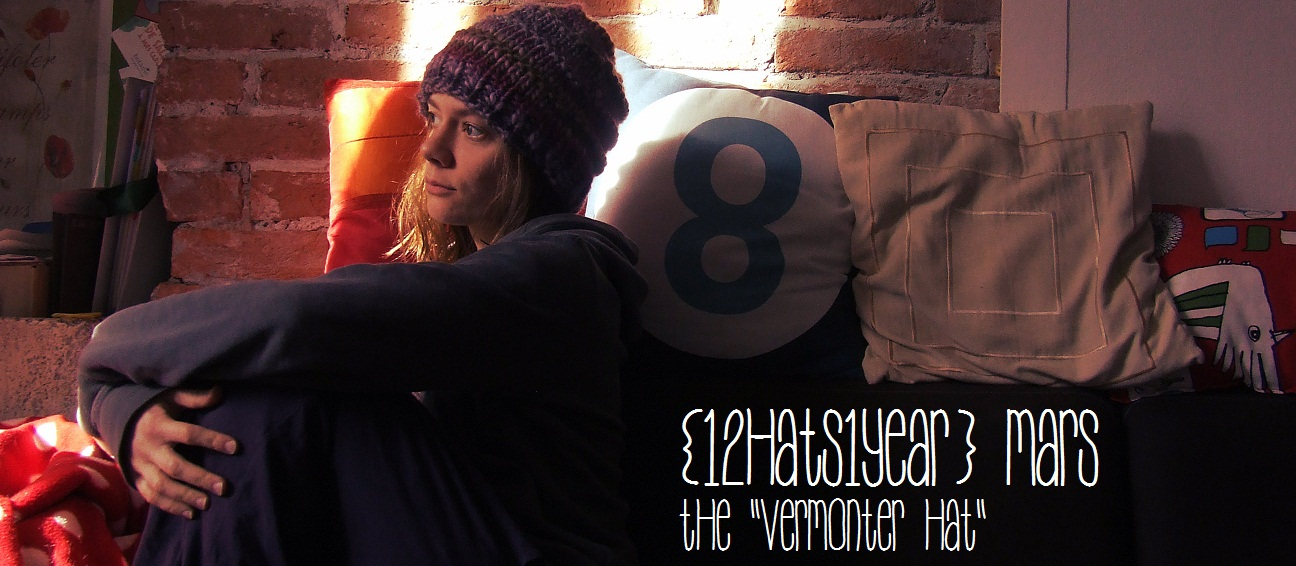 {12hats1year} MARS the Vermonter Hat