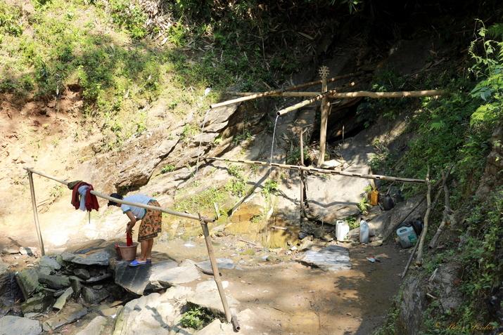 Village Khmou de Kon Pod, Laos