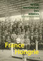 A lire dans les derniers numeros de la Revue Historique des Armées
