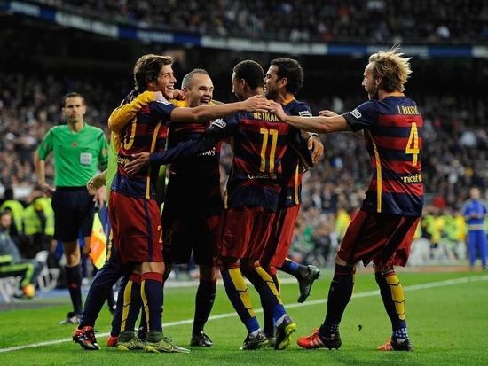 Le Barça écoeure le Real Madrid chez lui