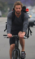 Scott Speedman à vélo