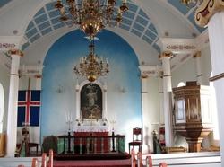 Les églises d'Islande : Reykjanes