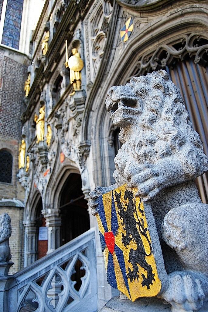 Bruges, le Burg