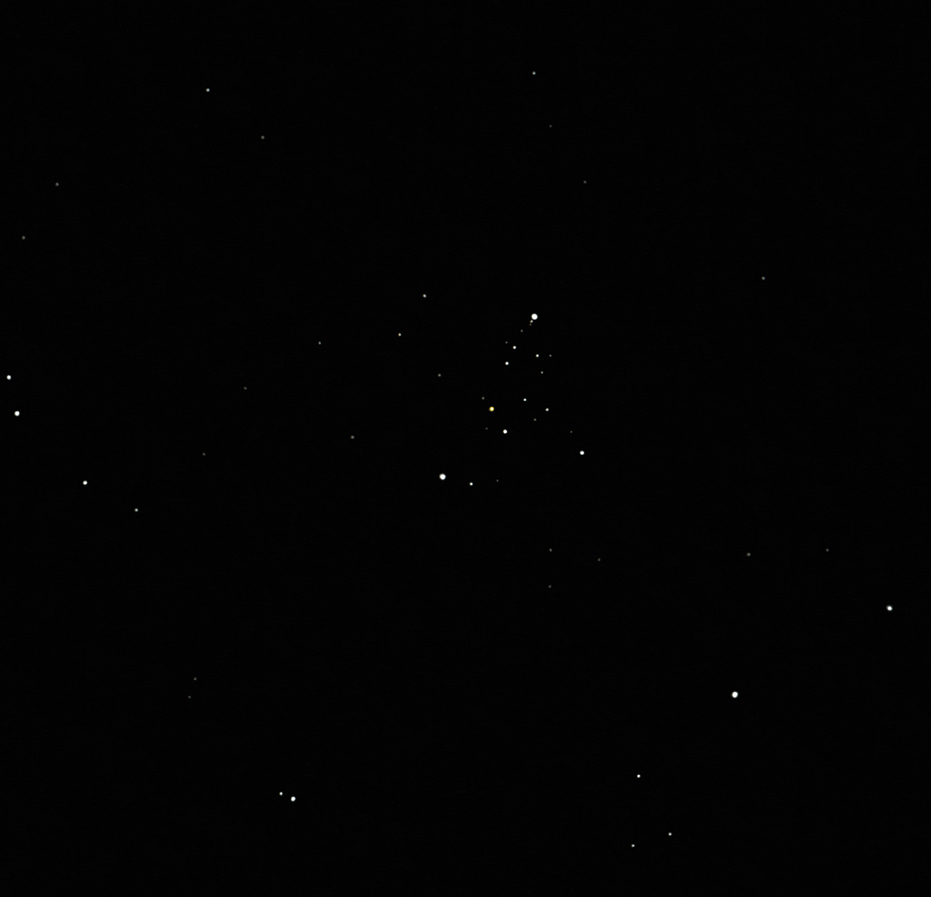 M103 open cluster