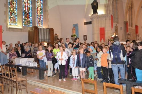 Une fête du Sacré-Coeur où ont retenti les voix des enfants
