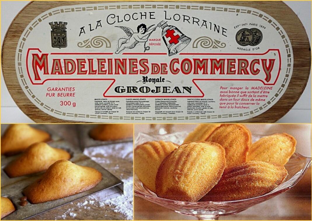 La madeleine de Commercy