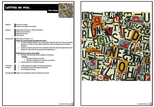 Fernando Costa, préparation, cycle 2, GS, Cp, ce1,lettres