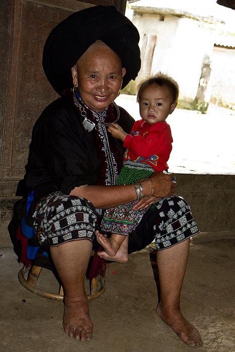 Grand mère Dao Noire