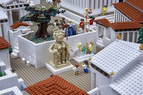 L'Acropole en LEGO