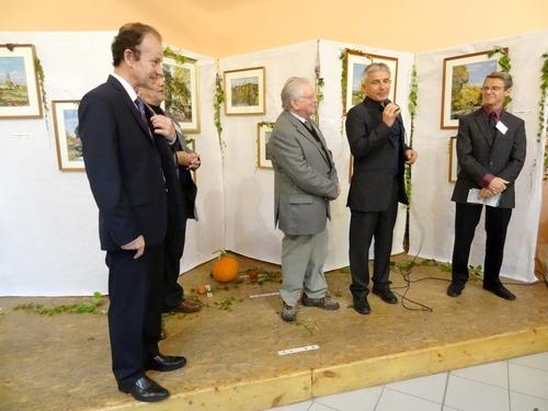 Le 7ème Salon d'Automne a eu  lieu à Chamesson