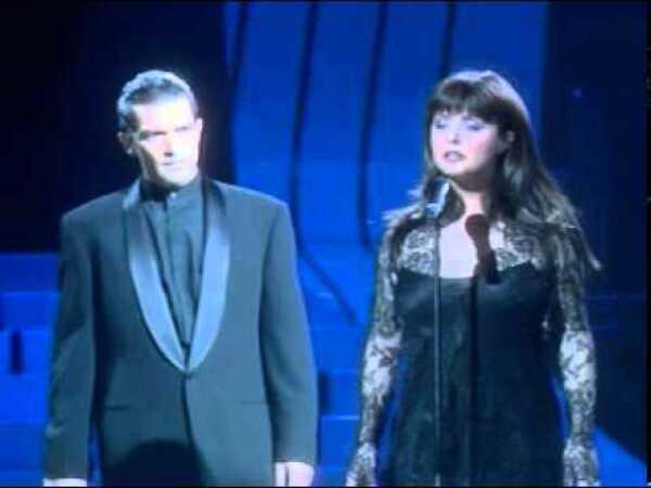 """Sarah Brightman & Antonio Banderas """"The Phantom of the Opera"""""""