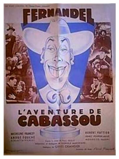 L'AVENTURE DE CABASSOU - BOX OFFICE FERNANDEL 1947