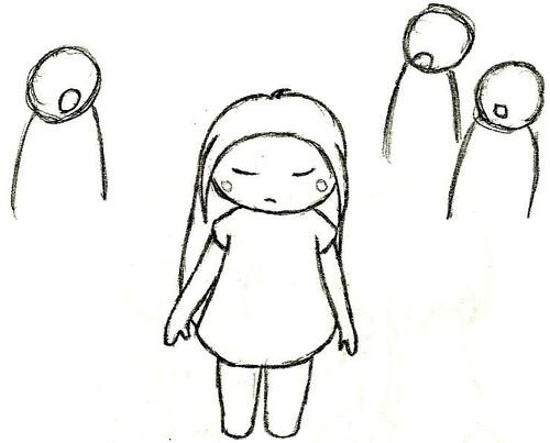 Mes Dessins : La Jeune Fille
