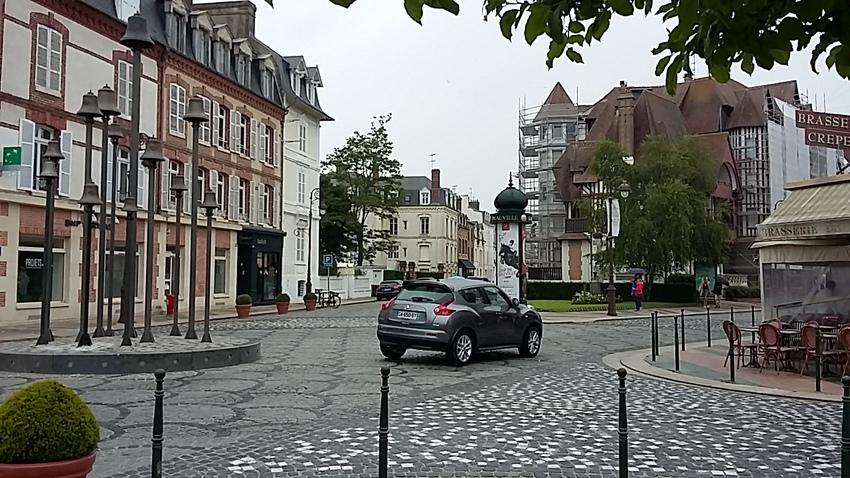 Deauville - Trouville par temps grisou