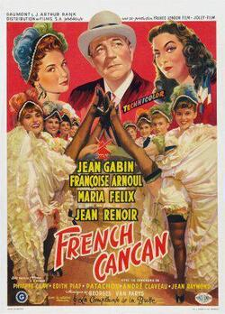 Cora VAUCAIRE ( film French Cancan )