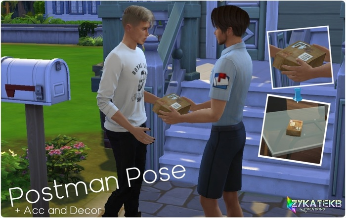 Postman pose