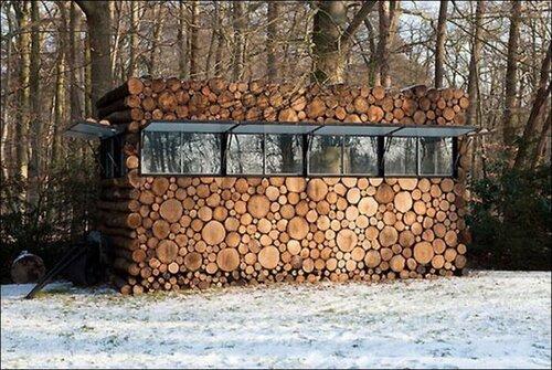 J' ai rentré le bois pour l hiver