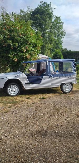 Camping les Berges de L'Iton  et les 100 ans de Citroën