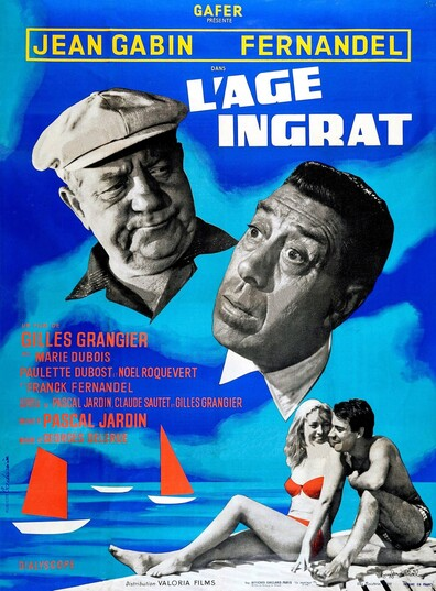 L'AGE INGRAT - BOX OFFICE FERNANDEL 1964