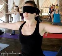 Le Yoga, c'est aussi une affaire d'yeux