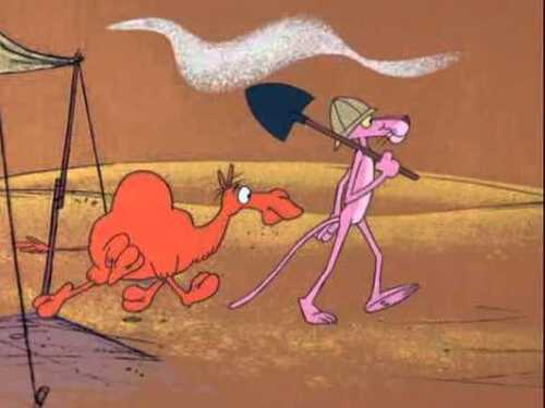 PINK PANTHER SHOW. Episode 52, Pink Sphinx (Humour)