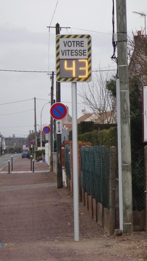 Les nouveaux radars pédagogiques de la route d'Orléans