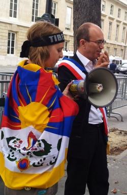 André Gattolin, Sénateur EELV intervient pour le Tibet