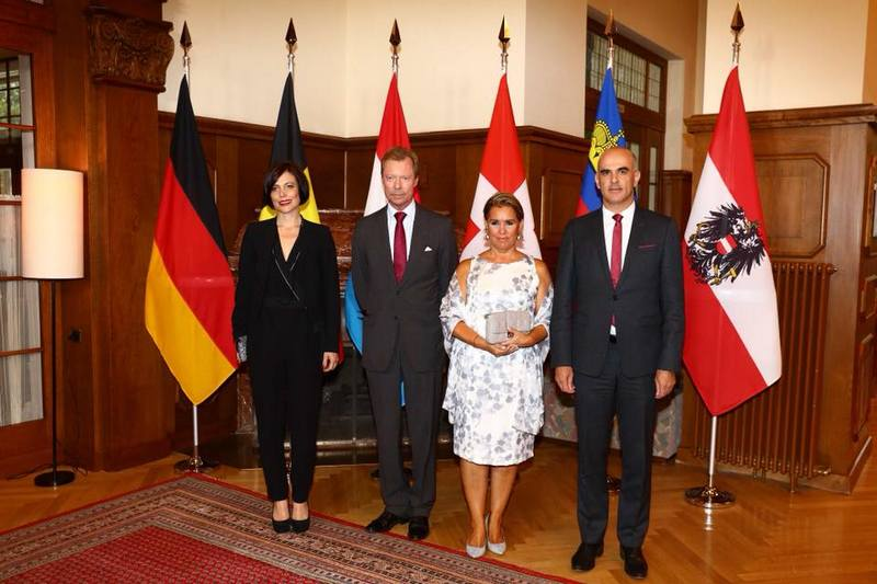 Réunion annuelle des chefs d'Etat des pays germanophones