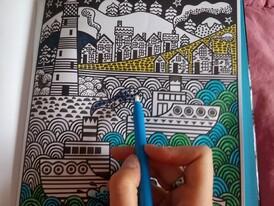 La peinture magique, Fiona Watt & Erica Harrison