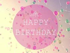 Happy birthday !
