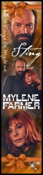 Marque Page Mylène & Sting (Stolen Car)