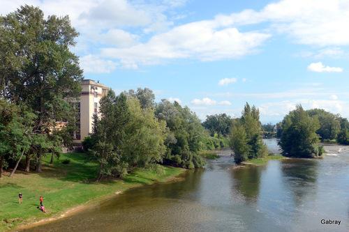 Auterive 31: pont sur l'Ariège ...