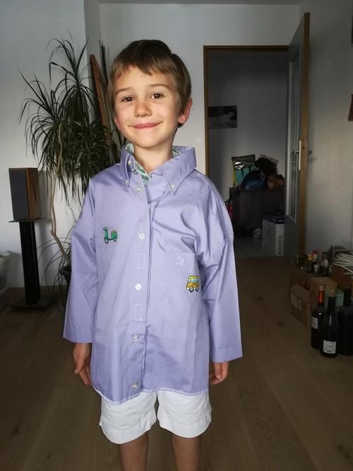Couture d'école